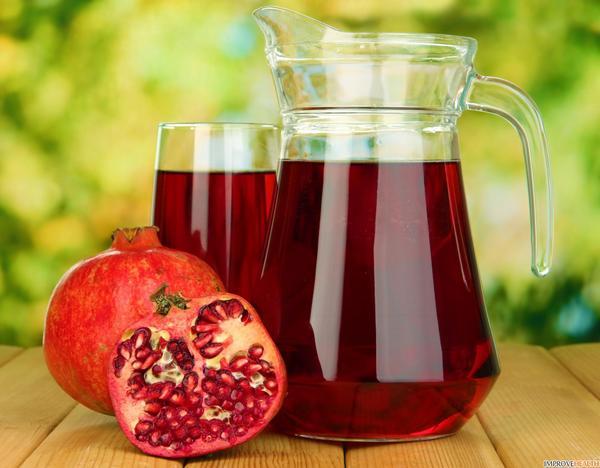 Приготовление, хранение и секреты вкуса гранатового сока