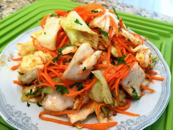 Корейские салаты: 6 рецептов из разных ингредиентов