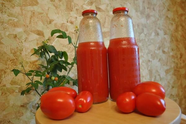 Помидоры томатный сок на зиму в домашних