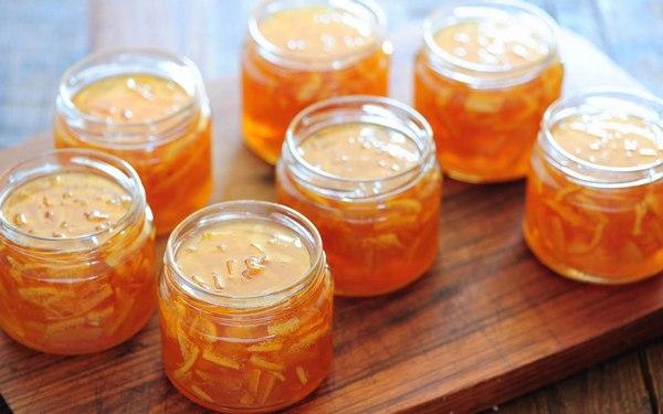Варенье из апельсинов с кожурой