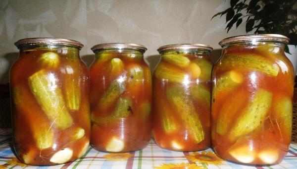 Заготовки на зиму из огурцов рецепты с пошагово в