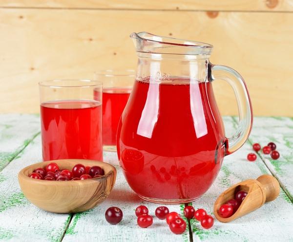 Клюквенный сок: 5 рецептов в домашних условиях