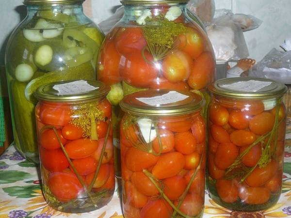 Маринованные помидоры на зиму: различные способы и рецепты