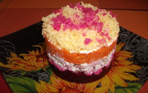 Осенний салат с капустой на зиму: пошаговые рецепты