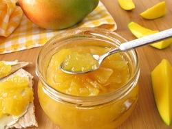 Мандариновый джем с манго